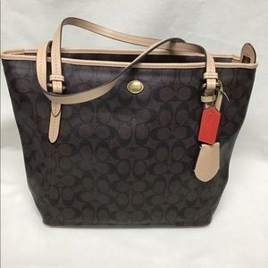 Coach Signature Tote-Previously Owned